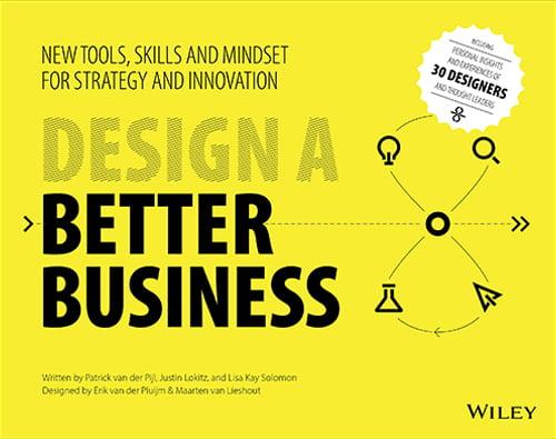 Design a better business libro copertina innovazione